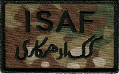 OCP Patch with Hook Fastener Internation Security Assistance Force ISAF