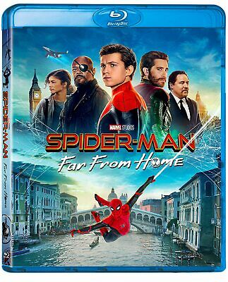 Spider-Man. Far From Home (2019) Blu-Ray + Luggage Stickers