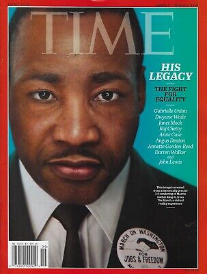 Time Magazine  March 2 2020 Martin Luther King His Legacy