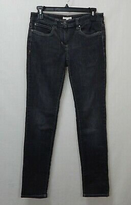 Eileen Fisher Womens Organic Cotton Stretch Skinny Jeans 4 Small S Pants Desiger