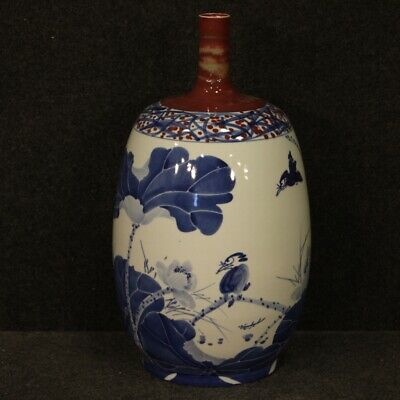 Chinese vase furniture object cup oriental in painted ceramic antique style 900