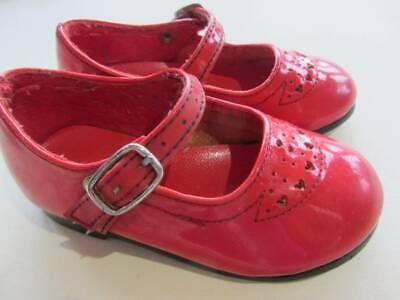 Vintage red mary janes toddler 60's toddler shoes retro disdplay