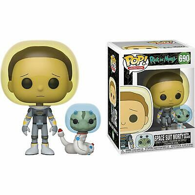 Funko Pop! Animation: Rick and Morty - Space Suit Morty w/ Snake Vinyl Figure