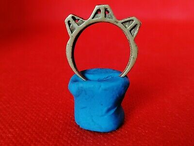 Rare Extremely Ancient Ring Viking Bronze Artifact Beautiful Authentic