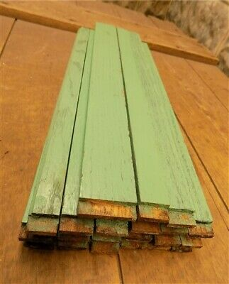 21 Balusters, Green Wood Architectural Salvage Spindles, Porch Post House Trim