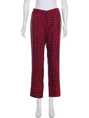 Immediate Shipping! Louis Vuitton Yayoi Kusama Signature Dot Silk Pants Size M