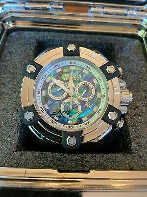 Invicta Reserve Grand Arsenal Octane, Model 21875, Abalone Silver Face 56/63mm