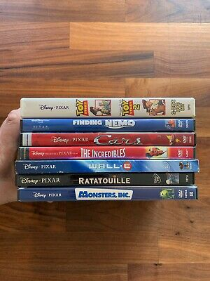 Disney Pixar Animation DVD Lot Bundle (8 Movies - 11 Discs)