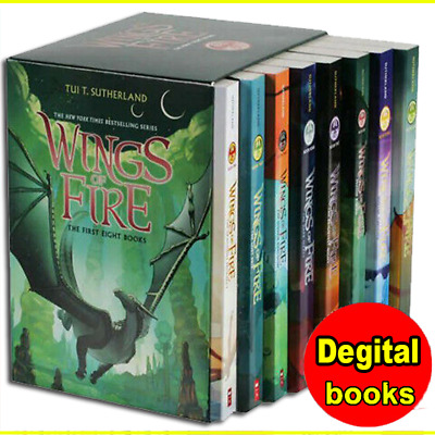 Wings of Fire 1-12 Books Set By Tui T. Sutherland 🔥 [P~D~F] 🔥 ( High Quality)