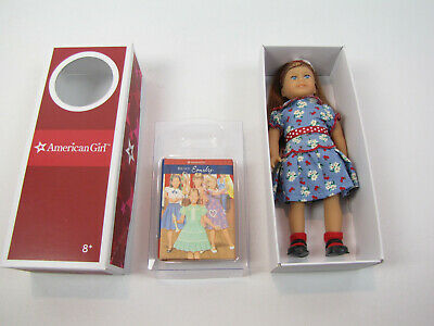 "NEW! American Girl Collection Mini Doll Emily  6"" Book & Box"