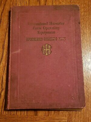 International Harvester IHC McCormick Deering Catalog 27 Gas Engine Tractor