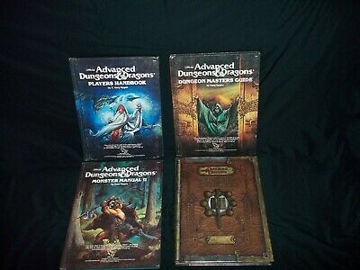 Advanced Dungeons & Dragons set of 4