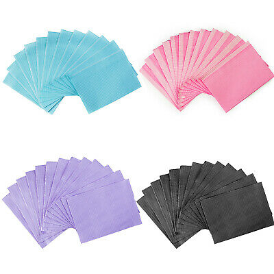 """Up To 2000 JMU Disposable Patient Bibs Towels 13""""x18"""" For TATTOO DENTAL MEDICAL"""