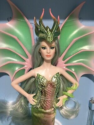 Gold Label Dragon Empress Barbie Doll. Final Doll In Mythical Muse Series. Nrfb.
