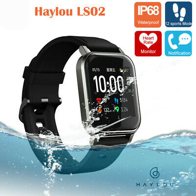 Xiaomi Haylou LS01 Smart Orologio Smartwatch Fitness Tracker IP68 Android iOS