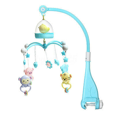 Crib Mobile Musical Bed Bell Newborn Baby Infant Bedroom Hanging Music Toys Gift