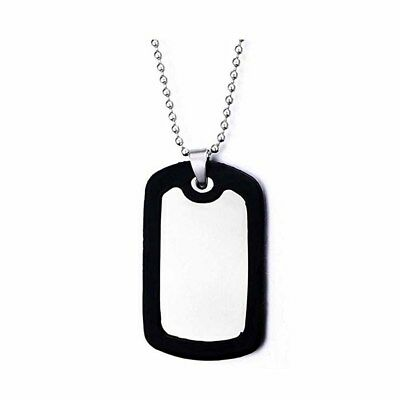 Viper Tactical Pair of Black Rubber Dog Tag Silencer Military Army Airsoft GI ID