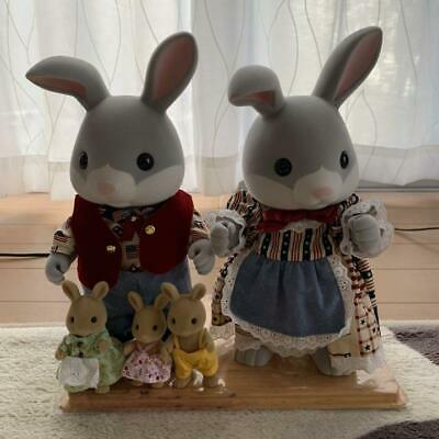 Sylvanian Families Calico Critters 15th Anniversary couple 2 bodies F/S Japan