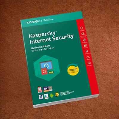 Kaspersky Internet Security   1PC  für  2020 MULTI DEVICE