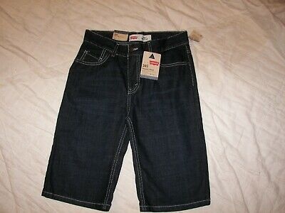 Boys Levi's 505 Denim Shorts - 14 R - New with Tags