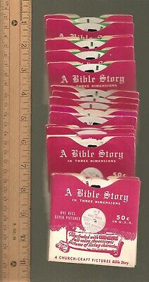 VM-8) Viewmaster reel - Bible Story Stories - your choice of reels