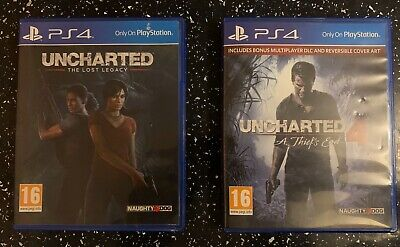 Uncharted 4:A Theif's End PS4 & Uncharted: The Lost Legacy (Sony Playstation 4)