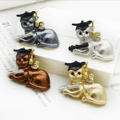 Cute Alloy Brooches For Women Girls Animal Deisgn Pin Funny Kitty Jewelry