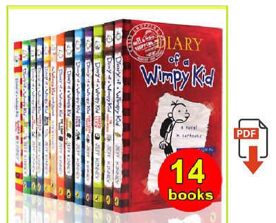 Diary Of A Wimpy Kid Collection 🔥 14 Books 🔥 Set By Jeff Kinney (P-D-F)