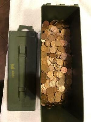 Circulated 95/% Copper Pennies 2 Bags 6,000 40LBS $60 Bullion Wheats /& Keepers