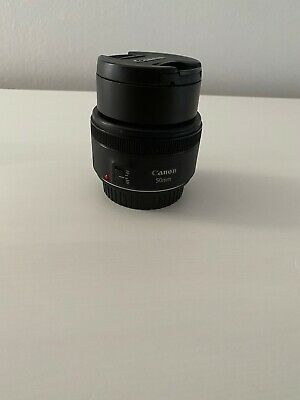 Canon EF 50mm f/1:1.8 STM Fixed Camera Lens With Hood