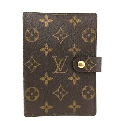 100% Authentic Louis Vuitton Monogram Agenda PM Notebook Cover /p188
