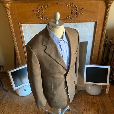 Corneliani Men 40 R 40R Sport Coat Jacket Wool Cashmere 3 Button Italy Made