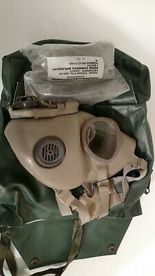 Military Czech Gas Mask and hood