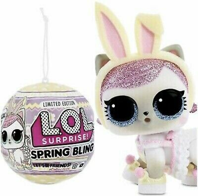LOL Surprise SPRING BLING Easter Ball Basket Hops Big Sister Doll Pet 1 In Hand