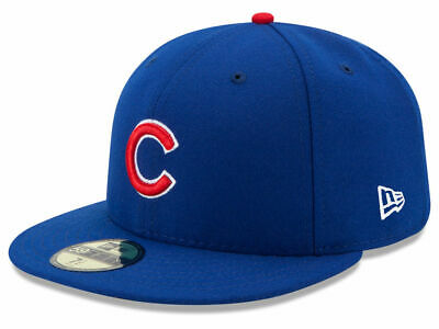 New Era Chicago Cubs GAME 59Fifty Fitted Hat (Royal Blue) MLB Cap