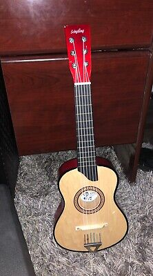 Schylling Make a Melody Beginner Classic Guitar 6 Strings Color Red