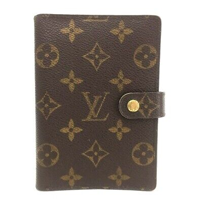 100% Authentic Louis Vuitton Monogram Agenda PM Notebook Cover / 2eEHE