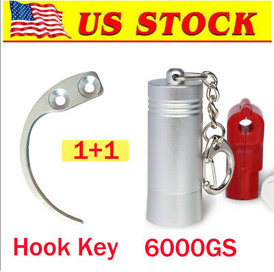 [US in STOCK] 6000GS Magnetic EAS Security Hard Tag Tool + Hook Key