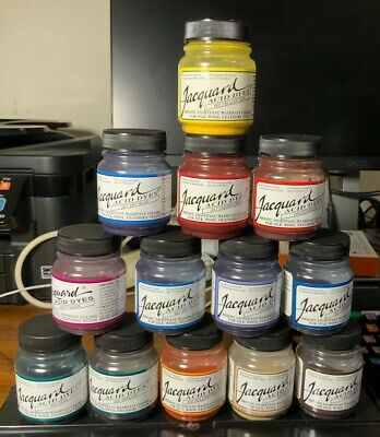 Jacquard Acid Dye 25 Different Colours For Using With Silk,Wool,Feathers,Nylon.