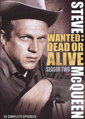Wanted Dead Or Alive - Season 2 DVD 4-Disc Set WITH CASE & ART BUY 2 GET 1 FREE