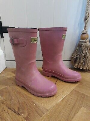 BNWT Joules Toddler Girls Welly Boots Wellies Rainboots Navy Magical Unicorns