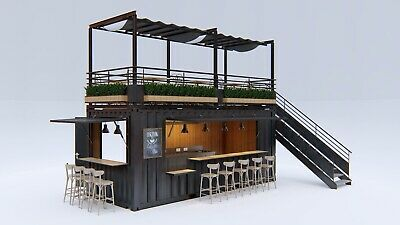 Converted Shipping Container - BAR / restaurant /Coffee Shop 20ft