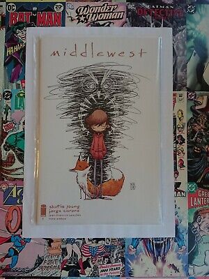 MIDDLEWEST #1 1:20 Skottie Young variant HTF. NEW BAGGED AND BOARDED 🔥 HOT BOOK