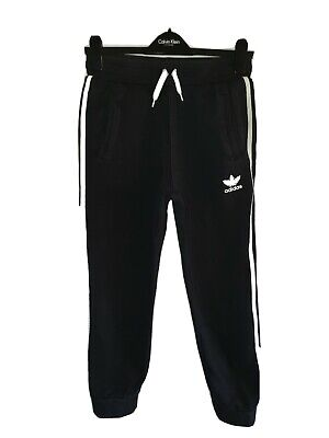 Boys ADIDAS ORIGINALS Cuffed Tracksuit Bottoms Age 12-13 Years