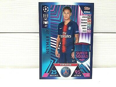 Match Attax - 18/19 - Neymar Jr - Paris Saint-Germain - Limitierte Auflage