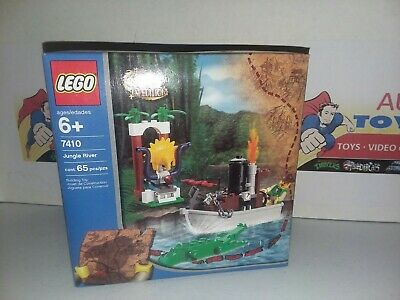 LEGO Factory Sealed NEW Set #7410 ORIENT EXPEDITION JUNGLE RIVER New old stock 2