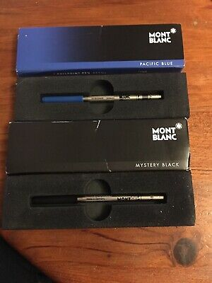 recharge stylo bille mont blanc
