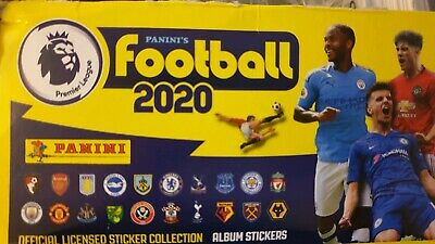 90 x Panini 2020 Premier League Football Stickers - all different!