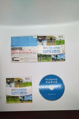 Wii Sports, Wii, COMPLETE (Game, Case, Manual)