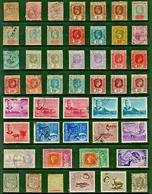 MAURITIUS Stamp Collection VICTORIAN to QEII Ref:QS87a